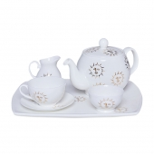 Casacarta Tea Set - Sun White
