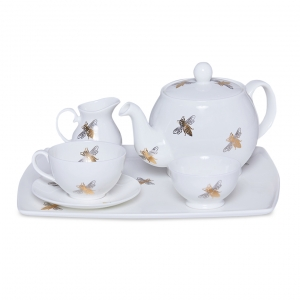 Casacarta Tea Set - Bee White