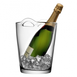 LSA International Bar Champagne Bucket Set of 3 Clear