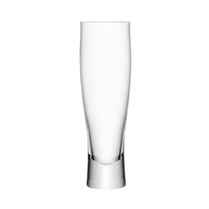 LSA International Bar Lager Glass Clear Set of 2