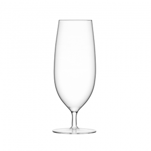 LSA International Bar Pilsner Glass Clear Set of 2
