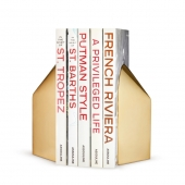 Aerin Archer Gold Bookends