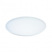 LSA International Dine Bread / Cake Plate Coupe White Set of 4