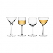 LSA International Lulu Liqueur Glass Clear Set of 16