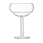 LSA International Mixologist Cocktail Coupe Glass Clear Set of 2