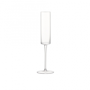 LSA International Otis Champagne Flute Clear Set of 4