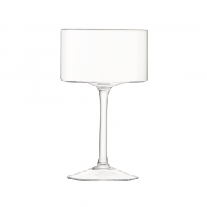LSA International Otis Champagne and Cocktail Glass Clear Set of 12
