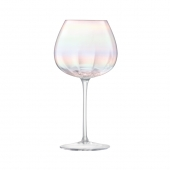 LSA International Pearl Red Wine Glass Multi Color Set of 12