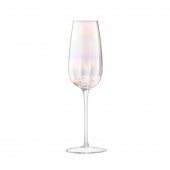 LSA International Pearl Champagne Flute Multi Color Set of 12
