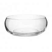 LSA International Serve Low Bowl Set of 3 Clear