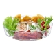 LSA International Serve Multi Platter Set Of 2 Clear