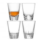 LSA International Tatra Tumbler Clear Set of 4