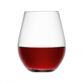 LSA International Wine Stemless Red Wine Glass Clear Set of 16