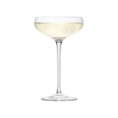 LSA International Wine Champagne Saucer Clear Set of 12