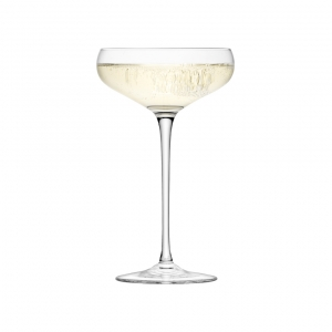 LSA International Wine Champagne Saucer Clear Set of 4