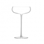 LSA International Wine Culture Champagne Saucer Clear Set of 2