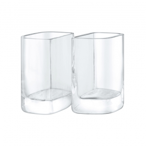 LSA International Echo Vase Set of 2