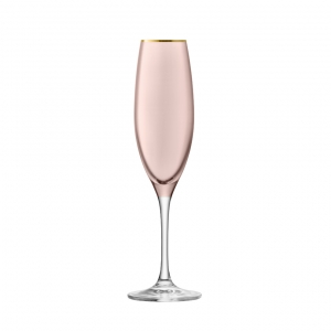 LSA International Sorbet Champagne Flute Set of 2