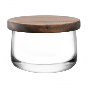 LSA International City Bowl & Walnut Lid