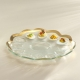 Annieglass Roman Antique Deviled Egg Platter