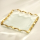 Annieglass Ruffle Square Tray