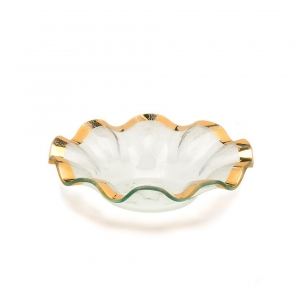 Annie Glass Ruffle Soup Bowl
