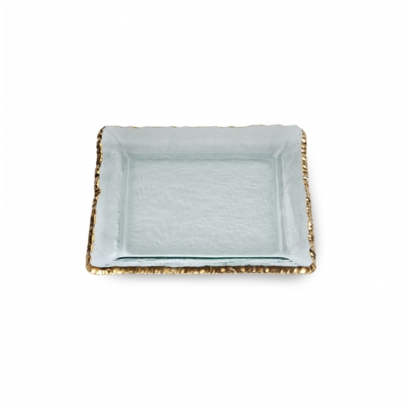 Edgey Gold Square Platter