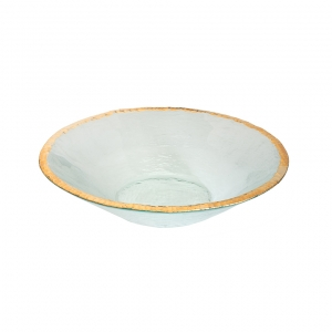 Annie Glass Edgey Round Bowl