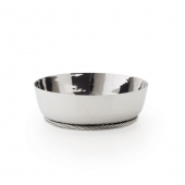 Michael Aram Twist Low Bowl Silver