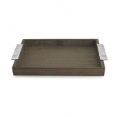Michael Aram Ripple Effect Serving Tray Wood