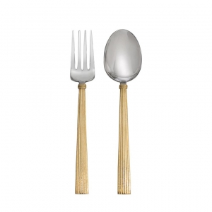 Wheat Gold Serving Set