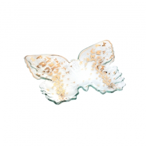 Annie Glass Butterfly Tray