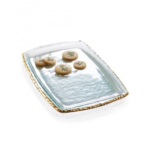 Annie Glass Edgey Martini Tray