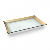 Annie Glass Roman Antique Martini Tray