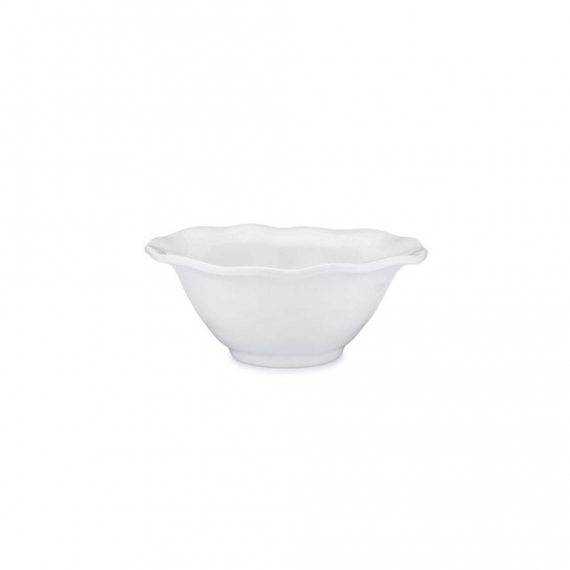 Ruffle Melamine Round Cereal Bowl Set of 8