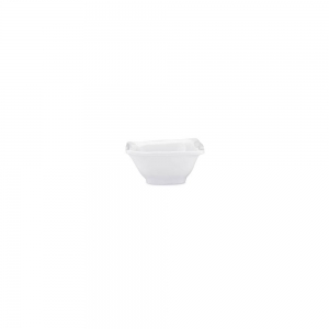 Ruffle Melamine Square Mini Dip Bowl