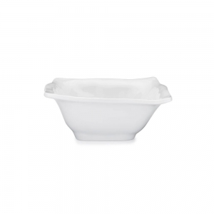 Ruffle Melamine Square Cereal Bowl