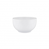 Q Squared Diamond Melamine Round Cereal Bowl Set Of 8 White