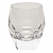 Moser Crystal Bar Double Old Fashioned Glass 7.3 Oz Clear
