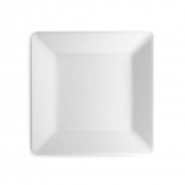 Q Squared Diamond Melamine Square Salad Plate White