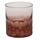 Moser Crystal Pebbles Double Old Fashioned Glass 12.5 Oz. Rosalin
