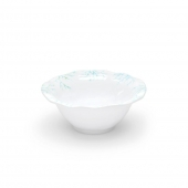 Q Squared Captiva Melamine Cereal Bowl Set Of 8 White