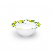 Q Squared Limonata Melamine Cereal Bowl Set Of 8 White