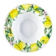 Q Squared Limonata Melamine Serving Bowl Set Of 4 Yellow