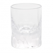 Moser Crystal Pebbles Shot Glass 2 Oz. Clear