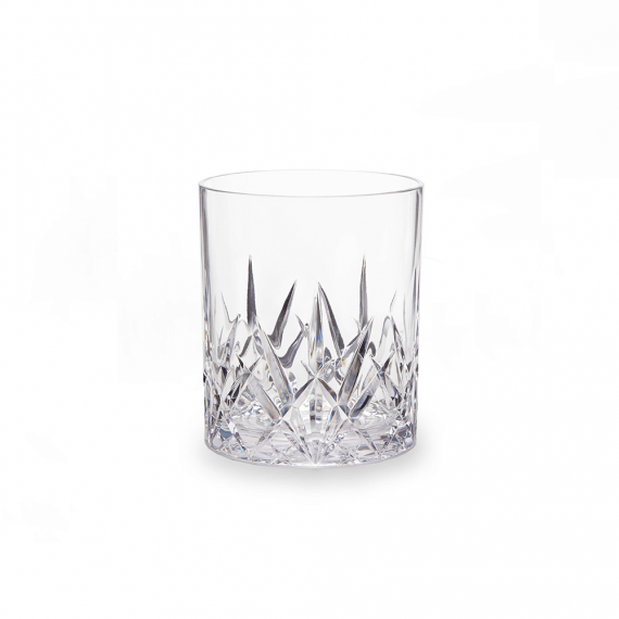 Aurora Crystal Tritan Acrylic DOF Glass Tumbler Set of 4