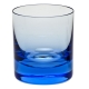 Moser Crystal Whisky Double Old Fashioned Glass 12.5 Oz. Aquamarine
