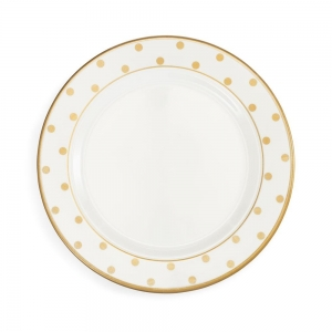 Moonbeam Dots Melamine Dinner Plate