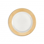 Moonbeam Ring Melamine Salad Plate
