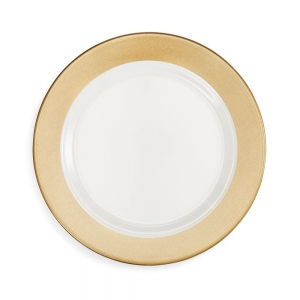 Moonbeam Ring Melamine Dinner Plate